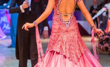 прическа для бальных танцев (стандарт) 8